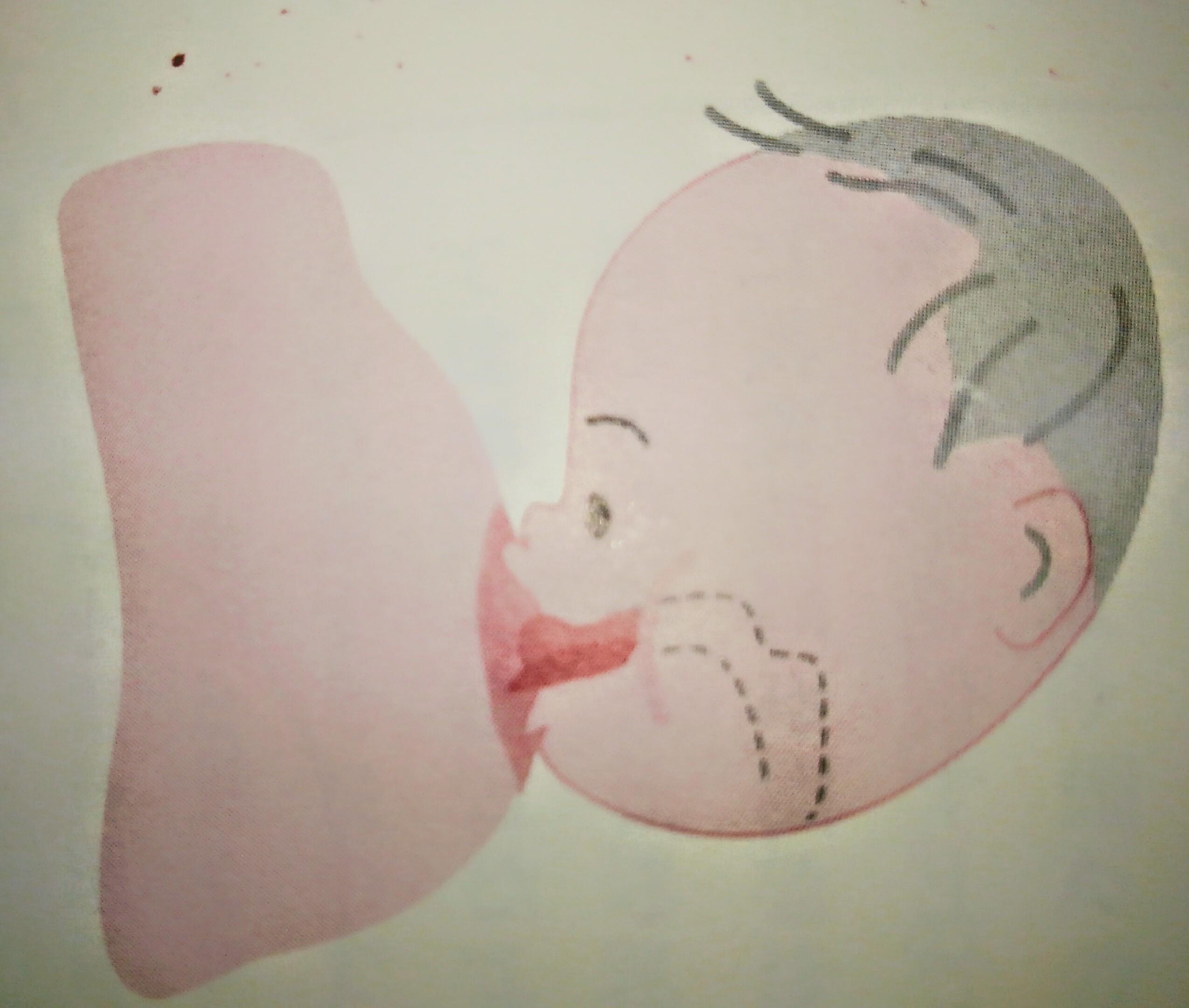 乳首が痛い~生まれてすぐの赤ちゃん